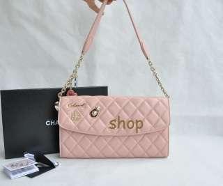 Purse Handbag Sheepskin Leather Quilt Bag High Quality 4 Colors