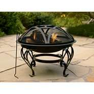 Garden Oasis 26 In. Elegant Round Fire Pit at