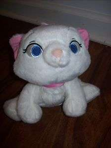 exclusive stuffed plush Marie ARISTOCATS kitten white cat pink bow
