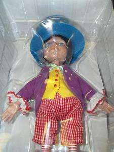 Tonner Alice In Wonderland Mad Hatter doll new