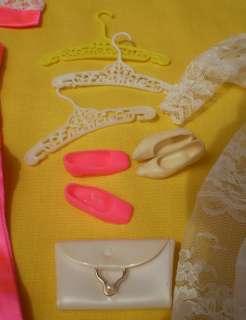 Vtg 1966 Mattel Barbie FRANCIE Doll w/ Box Wedding Dress & Clothes