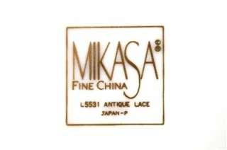 Gorgeous Mikasa Fine China Antique Lace Salad Plate