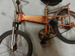 STELBER BARRIS Mini Muscle Bicycle Bike Stingray Chopper  RARE