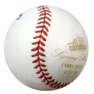 Larry Doby Autographed Signed MLB Baseball PSA/DNA #K07498