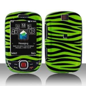 Green Zebra Hard Case Cover for T Mobile Samsung ) Smiley T359