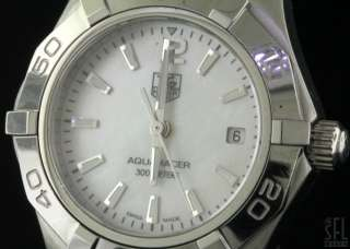 TAG HEUER AQUARACER FANCY MOTHER OF PEARL DIAL SS QUARTZ LADIES WATCH