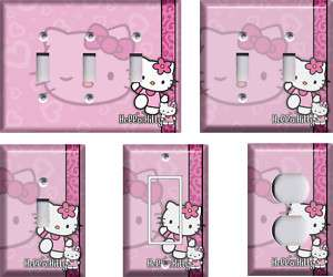 Hello Kitty #1 Light Switch Plate