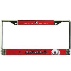 Anaheim Angels   Logo Metal License Plate Frame MLB Pro