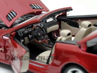 MAISTO 118 2011 MERCEDES BENZ SL550 CONVERTIBLE RED