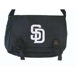 MLB San Diego Padres Messenger (Medium, Black) Sports