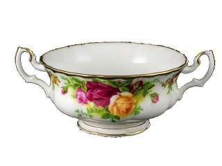Royal Albert Old Country Roses Cream Soup Cup Only Brand New