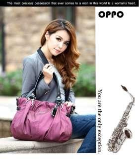 OPPO Elegant Luxurious Charming Hobo Shoulder Bag Handbag Tote PU