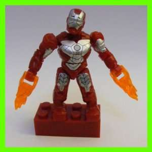 Mega Bloks Marvel Micro Action Figures Series 2 Iron Man Mark V Common