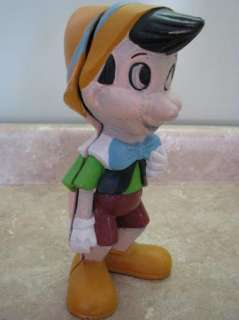Vintage PINOCCHIO CAST IRON BANK Original Paint ANTIQUE