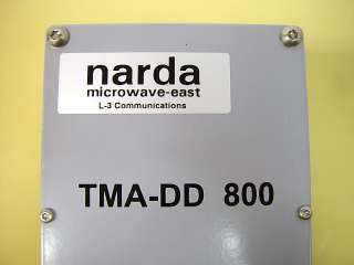 Narda Microwave L 3 Communications TMA DD 800 Tower Mounted Amplifier