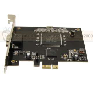 8CH RealTime 240fps Full D1 High Quality PCI E DVR Card