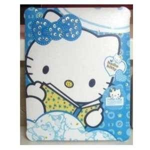 Hello Kitty Iphone 4G Case Swarovski Crystal Bling Blue