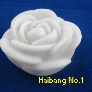 Romantic 7 color changing LED Rose Shaped Night Light rose led Gift