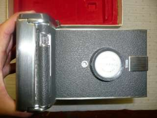 You are bidding on a Polaroid Land Camera Model 150 w/original box in