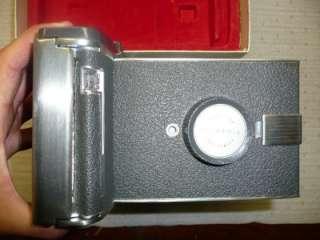 You are bidding on a Polaroid Land Camera Model 150 w/original box in
