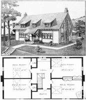 Vintage Architect Stickley homes house floor plans