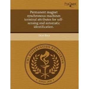 Permanent magnet synchronous machines terminal attributes
