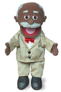 14 Pro Puppets/Full Body Hand Puppet African American Grandpa