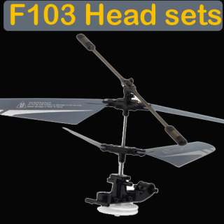 Channel F103 Mini Gyro AVATAR RC Metal Metal Helicopter Remote Control