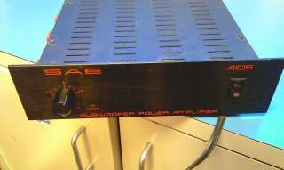 SAE MODEL A105 SUBWOOFER POWER AMPLIFIER RARE