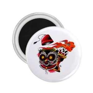 NEW Tattoo Owl Bird Fridge Souvenir Magnet 2.25 Free