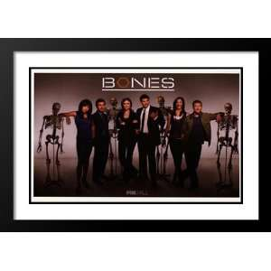 Bones (TV) 20x26 Framed and Double Matted TV Poster   Style E   2005