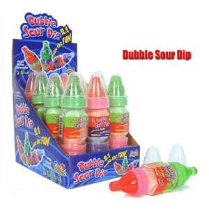 Dubble Sour Dip Baby Bottle sour dipping candy 12 pack