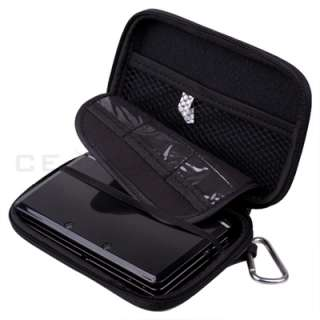 Black Case Cover Bag Pouch for Nintendo 3DS DSi DS Lite