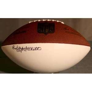 Bobby Mitchell Signed NFL Football