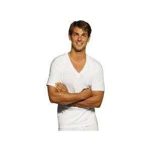 Hanes Mens Tagless V Neck T Shirt   3 Pack  Sports