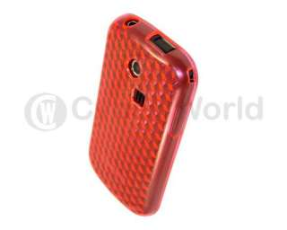 PINK Gel Case Cover Skin For Samsung CHAT 335 S3350