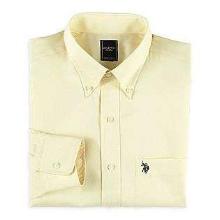 Mens Oxford Long Sleeve Shirt  US Polo Assn. Clothing Mens Shirts