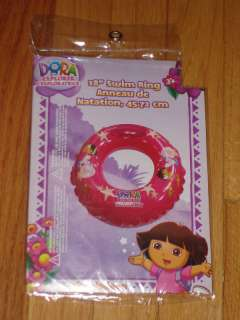 NEW DORA THE EXPLORER 18 INFLATABLE SWIMMING RING/AID