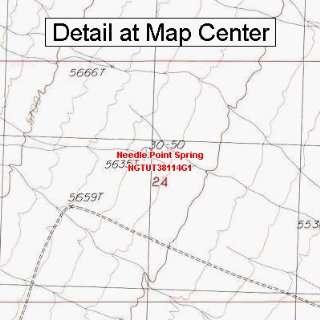Map   Needle Point Spring, Utah (Folded/Waterproof)