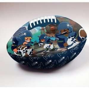 Seattle Seahawks NFL Football Rush Pillow