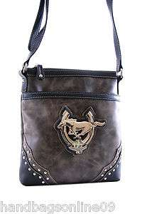 Ford Mustang   BLACK 45th Anniversary Cross body Purse