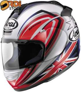 XS ~ Arai Vector 2 Brock Parkes 3 Full Face Motorcycle Helmet