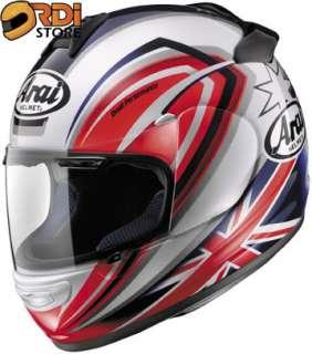 XS ~ Arai Vector 2 Brock Parkes 3 Full Face Motorcycle Helmet