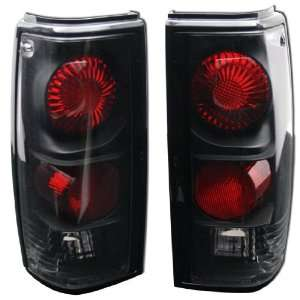 S10, 82 93 GMC S15/SONOMA ALTEZZA TAIL LIGHTS BLACK Automotive