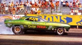 Tim Beebe Dodge Fever Funny Car NHRA Decals Slixx #1301