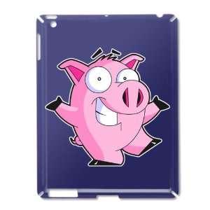 iPad 2 Case Royal Blue of Pig Cartoon: Everything Else