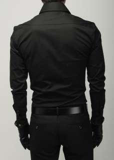 New Mens Slim Fit Stylish Dress Shirts XS,S,M C1516