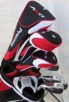 Mens Left Handed Golf Set Clubs Driver, Wood, Hybrid, Irons, Putter