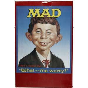 Alfred E. Neuman Poster Mad What   Me Worry? , 23 x 28