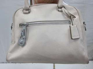 Authentic MICHAEL Michael Kors Knox Large Satchel in Vanilla